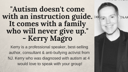 Kerry Magro's autism quotes